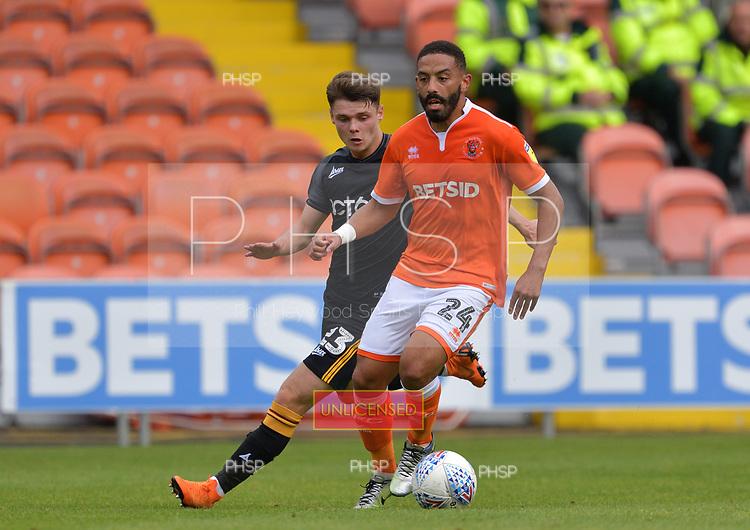 08/09/2018 Sky Bet League 1 Blackpool v Bradford City<br /> <br /> Liam Feeney, Blackpool FC