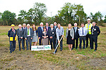 FOOD: Turning the sod on the new Food Store at Firies on Thursday was Donal Daly former Kerry Footballer and a resident of Firies. L-r: Michael O'Connor,Anthony Whelan,Morgan McMahon,Donal Spring,Mary Rogers, Donal Daly, Anne O'Donoghue, David Gleeson, Angela McAllen,Con O'Connor,Tom Shanahan,Mike McKenna,Martin Brosnan,Jerry Moloney and Tomás Hayes.