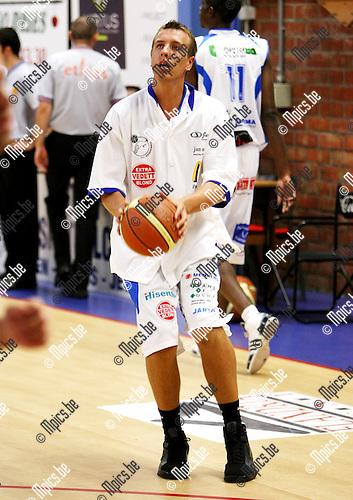2008-08-25 / Basketbal / Kangoeroes / ??? Kevin Hoet ???..Foto: Maarten Straetemans (SMB)