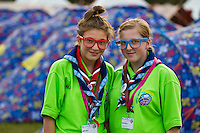 Brittish scouts in eyeglasses Photo: Magnus Fröderberg/Scouterna