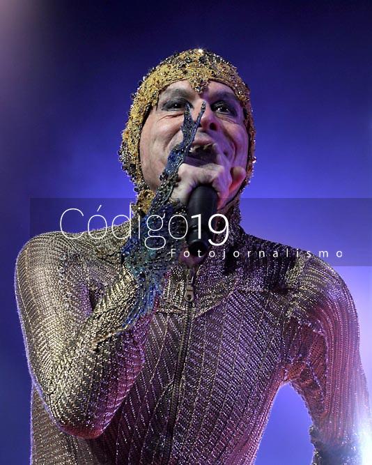 Sao Paulo (SP), 06/03/2020 - Ney Matogrosso apresentou seu show Bloco na Rua, inspirado na musica de Sergio Sampaio, nesta sexta-feira (06) no Unimed Hall em Sao Paulo. (Foto: Jorge Bevilacqua/Codigo 19/Codigo 19)