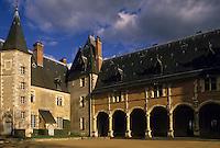 Europe/France/Centre/18/Cher/Oizon : Château de la Verrerie [Non destiné à un usage publicitaire - Not intended for an advertising use]