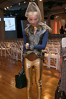 Daphne Guinness attends the Pratt 2011 fashion show, honoring Hamish Bowles, April 27 2011.
