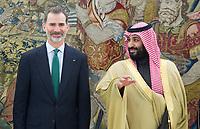 2018 04 12 King Felipe VI and Mohammed Bin Salman Bin Abdulaziz Al Saud