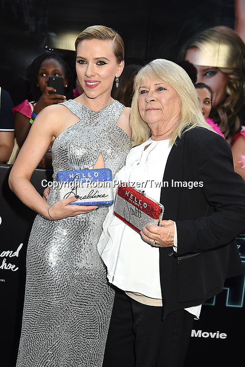 Scarlett Johansson and Geraldine Dodd attends the &quot;Rough Night&quot; World Premiere on June 12, 2017 at AMCLowes Lincoln Square 13 in New York, New York, USA.<br /> <br /> photo by Robin Platzer/Twin Images<br />  <br /> phone number 212-935-0770