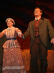 "Melissa Gilbert and Steve Blanchard ""Ma and Pa Ingalls"" star in Little House on the Prairie - The Musical at the Paper Mill Playhouse's 71st Season as it opens with East Coast Premiere on September 20, 2009 in Millburn, New Jersey. (Photo by Sue Coflin/Max Photos)"