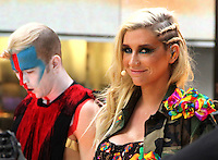 NEW YORK, NY - NOVEMBER 20: Ke$ha performs on NBC's Today Show at Rockefeller Center in New York City. November 20, 2012. Credit: RW/MediaPunch Inc. /NortePhoto