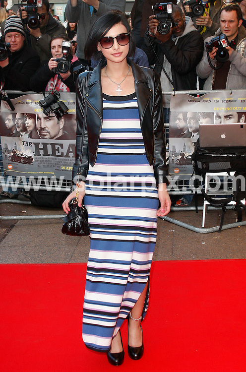 **ALL ROUND PICTURES FROM SOLARPIX.COM**.**WORLDWIDE SYNDICATION RIGHTS**.Outside Red carpet arrivals for the World Premiere of - The Heavy - at the Odeon West End, London, UK. 15 April 2010..This pic: Leah Weller..JOB REF: 11094 LNJ     DATE: 15_04_2010.**MUST CREDIT SOLARPIX.COM OR DOUBLE FEE WILL BE CHARGED**.**MUST NOTIFY SOLARPIX OF ONLINE USAGE**.**CALL US ON: +34 952 811 768 or LOW RATE FROM UK 0844 617 7637**