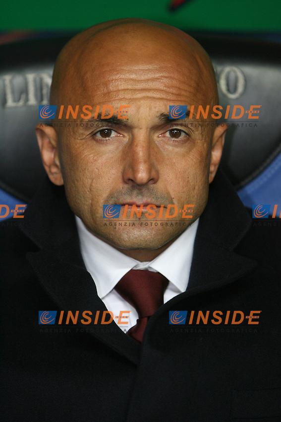 Luciano Spalletti (Roma) trainer<br /> L'allenatore della Roma Luciano Spalletti<br /> Italian &quot;Serie A&quot; 2006-07 <br /> 11 November 2006 (Match Day 11) <br /> Milan Roma (1-2) <br /> &quot;Giuseppe Meazza&quot; Stadium-Milano-Italy <br /> Photographer Andrea Staccioli INSIDE