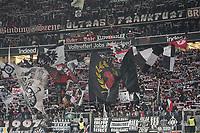 Fans von Eintracht Frankfurt - 18.12.2019: Eintracht Frankfurt vs. 1. FC Koeln, Commerzbank Arena, 16. Spieltag<br /> DISCLAIMER: DFL regulations prohibit any use of photographs as image sequences and/or quasi-video.