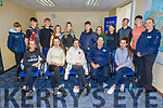 TY students who received their certificates for taking part in the Garda Orientation Programme 2019 at the Tralee Garda station on Friday. <br /> Seated l to r: Eabha Murphy, Ciara Landers, Ciara Rath, Gda Cath Murphy and Mary Ann Fleming.<br /> Back l to r: Maurice O'Connell, Conor and Brian Walsh, Rebecca Moriarty, Sarah Cantillon, John Luka, Caitlin Rietveld, Kayleigh Williams, Matthew O'Mahoney, Daniel Moriarty and Gda Mary Gardiner.