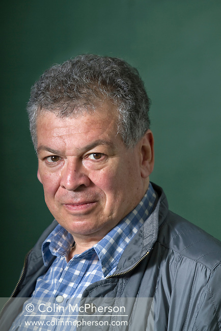 Acclaimed American novelist and journalist Francisco Goldman, pictured at the Edinburgh International Book Festival where he talked about his new book entitled 'Say Her Name'. The three-week event is the world's biggest literary festival and is held during the annual Edinburgh Festival. The 2011 event featured talks and presentations by more than 500 authors from around the world.