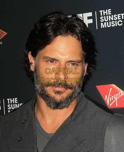 Joe Manganiello.5th Annual Sunset Strip Music Festival Held At  SkyBar at Mondrian, West Hollywood, California, USA, .17th August 2012..portrait headshot beard facial hair  grey gray t-shirt .CAP/ADM/KB.©Kevan Brooks/AdMedia/Capital Pictures.