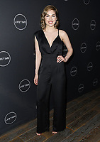 09 January 2019 - Hollywood, California - Sarah Dugdale. Lifetime Winter Movies Mixer held at The Andaz, Studio 4. Photo Credit: Birdie Thompson/AdMedia