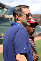 Chicago Cubs chairman of the board Tom Rickets before the Under Armour All-American Game at Wrigley Field on August 13, 2011 in Chicago, Illinois.  (Mike Janes/Four Seam Images)