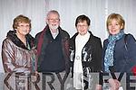 Maura Clifford Beaufort, Liam McHale Mary Lynch  and Eileen O'Riordan all Killarney enjoying the Hugh O'Flaherty memorial concert in the Malton Hotel Killarney on Thursday night..