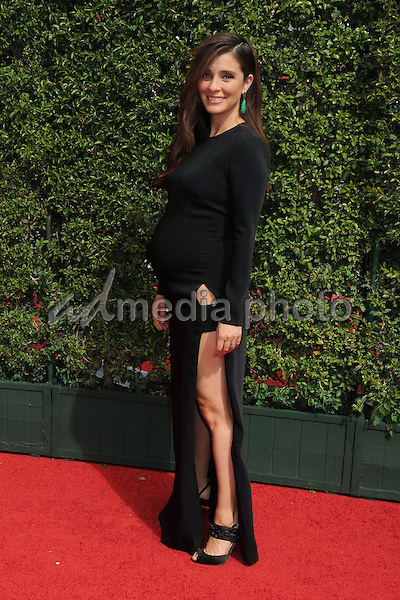 12 September 2015 - Los Angeles, California - Shiri Appleby. 2015 Creative Arts Emmy Awards - Arrivals held at the Microsoft Theatre. Photo Credit: Byron Purvis/AdMedia