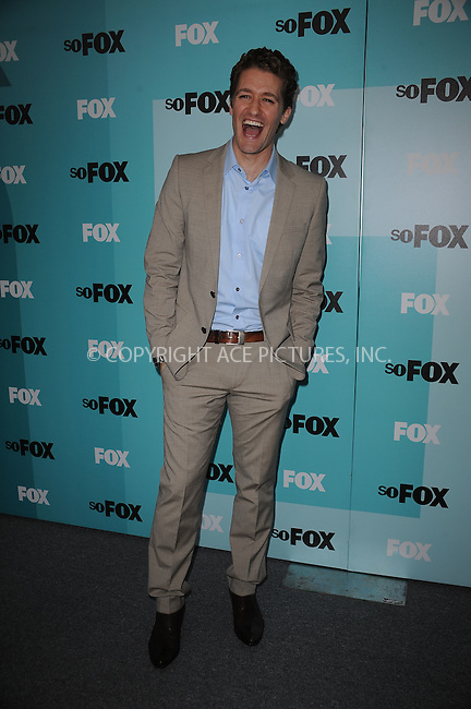 WWW.ACEPIXS.COM . . . . . ....May 18 2009, New York City....Matthew Morrison attending the 2009 FOX UpFront after party at the Wollman Rink in Central Park on May 18, 2009 in New York City.....Please byline: KRISTIN CALLAHAN - ACEPIXS.COM.. . . . . . ..Ace Pictures, Inc:  ..tel: (212) 243 8787 or (646) 769 0430..e-mail: info@acepixs.com..web: http://www.acepixs.com