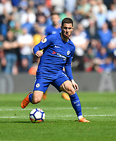 Chelsea's Eden Hazard<br /> <br /> Photographer David Horton/CameraSport<br /> <br /> The Premier League - Southampton v Chelsea - Saturday 14th April2018 - St Mary's Stadium - Southampton<br /> <br /> World Copyright &copy; 2018 CameraSport. All rights reserved. 43 Linden Ave. Countesthorpe. Leicester. England. LE8 5PG - Tel: +44 (0) 116 277 4147 - admin@camerasport.com - www.camerasport.com