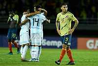 PEREIRA - COLOMBIA, 18-01-2020: Ricardo Marquez de Colombia luce decepcionado después del partido entre Colombia y Argentina de la fecha 1, grupo A, del CONMEBOL Preolímpico Colombia 2020 jugado en el estadio Hernán Ramírez Villegas de Pereira, Colombia. / Ricardo Marquez of Colombia looks disappointed after the match between Colombia and Argentina of the date 1, group A, for the CONMEBOL Pre-Olympic Tournament Colombia 2020 played at Hernan Ramirez Villegas stadium in Pereira, Colombia. Photo: VizzorImage / Julian Medina / Cont