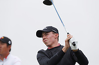 Matthew Fitzpatrick (ENG) tees off on the 12th hole during the Wednesday practice round of the 118th U.S. Open Championship at Shinnecock Hills Golf Club in Southampton, NY, USA. 13th June 2018.<br /> Picture: Golffile | Brian Spurlock<br /> <br /> <br /> All photo usage must carry mandatory copyright credit (&copy; Golffile | Brian Spurlock)