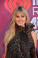 LOS ANGELES, CA. March 14, 2019: Heidi Klum at the 2019 iHeartRadio Music Awards at the Microsoft Theatre.<br /> Picture: Paul Smith/Featureflash
