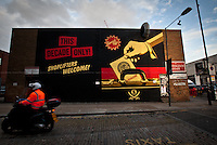 18.10.2012 - Chasing Shepard Fairey around Brick Lane