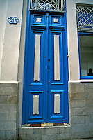 Old Havana Cuba Tall Blue Door, Republic of Cuba, , pictures of front door entrances