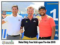 Alexander Levy (FRA) team on the 10th tee during Wednesday's Pro-Am of the 2018 Dubai Duty Free Irish Open, held at Ballyliffin Golf Club, Ireland. 4th July 2018.<br /> Picture: Eoin Clarke | Golffile<br /> <br /> <br /> All photos usage must carry mandatory copyright credit (&copy; Golffile | Eoin Clarke)