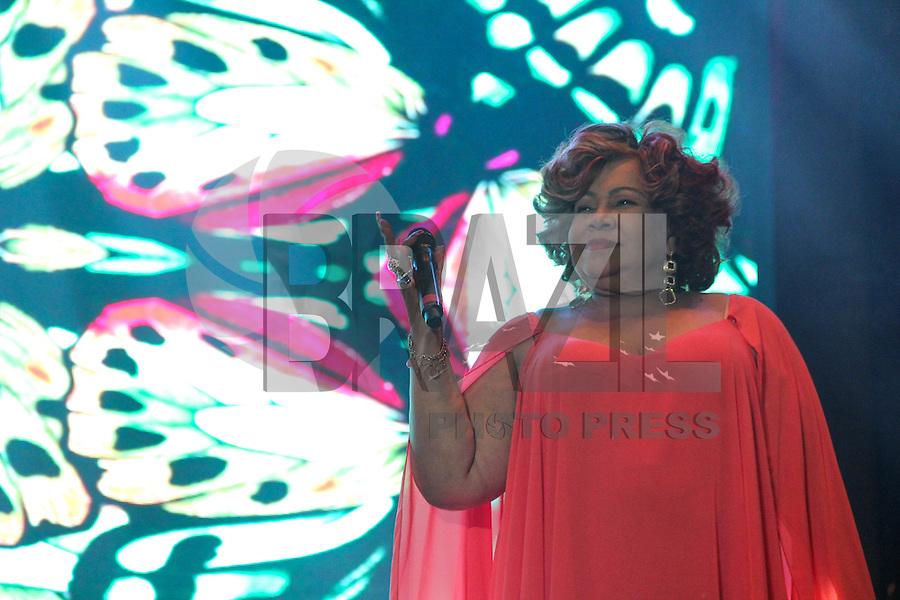 SÃO PAULO,SP, 21.05.2016 - VIRADA-CULTURAL - A cantora Alcione se apresenta no palco Júlio Prestes da Virada Cultural 2016, no centro de São Paulo, neste sábado, 21. (Foto: Quezia Amorim/Brazil Photo Press)