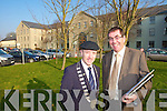 Michael Healy Rae and Tom Curran.   Copyright Kerry's Eye 2008