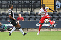 Roarie Deacon of Stevenage clears<br />  - Notts County v Stevenage - Sky Bet League One - Meadow Lane, Nottingham - 24th August 2013<br /> © Kevin Coleman 2013