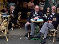 Normandia 1944-2004 60esimo dello sbarco alleato. Reduci inglesi.