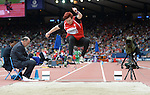 Wales Beverley Jones during the heat <br /> <br /> Photographer Ian Cook/Sportingwales<br /> <br /> 20th Commonwealth Games - Long Jump - Athletics -  Day 4 - Sunday 27th July 2014 - Glasgow - UK