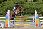 Class 6. Foxhunter. British Showjumping (BS) Juniors. Brook Farm training centre. Stapleford Abbotts. Essex. 14/05/2017. MANDATORY Credit Garry Bowden/Sportinpictures - NO UNAUTHORISED USE - 07837 394578