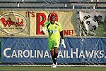 02 June 2012: Carolina's Ray Burse. The Carolina RailHawks defeated the Puerto Rico Islanders 2-1 at WakeMed Soccer Stadium in Cary, NC in a 2012 North American Soccer League (NASL) regular season game.