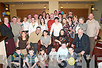 BIRTHDAY WISHES: Julie Murphy, Arbutus Drive, Killarney (seated centre), celebrated her 40th birthday in the Killarney Heights Hotel on Saturday night with her family and friends.   Copyright Kerry's Eye 2008
