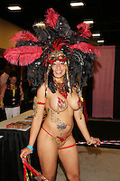 Puerto Rican Princess Zuma at Exxxotica, Broward County Convention Center, Fort Lauderdale, FL. <br /> Friday May 2, 2014.