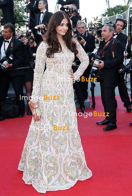 CPE/Aishwarya Rai attends the 'Blood Ties' Premiere during the 66th Annual Cannes Film Festival at the Palais des Festivals on May 20, 2013 in Cannes, France.