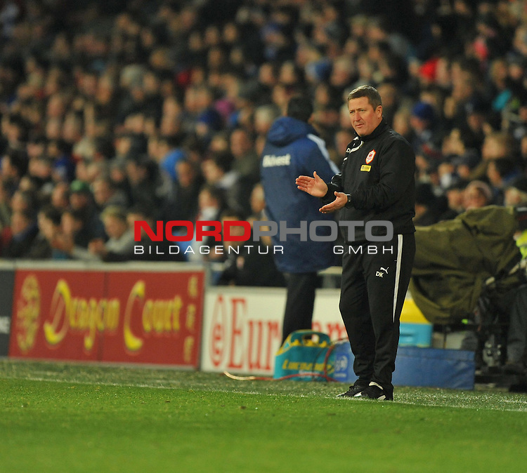 Cardiff City&rsquo;s, David Kerslake -  28/12/2013 - SPORT - FOOTBALL - Cardiff City Stadium - Cardiff - Cardiff City v Sunderland - Barclays Premier League<br /> Foto nph / Meredith<br /> <br /> ***** OUT OF UK *****