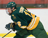 Nick Tremblay (Clarkson - 12) - The Harvard University Crimson defeated the visiting Clarkson University Golden Knights 3-2 on Harvard's senior night on Saturday, February 25, 2012, at Bright Hockey Center in Cambridge, Massachusetts.