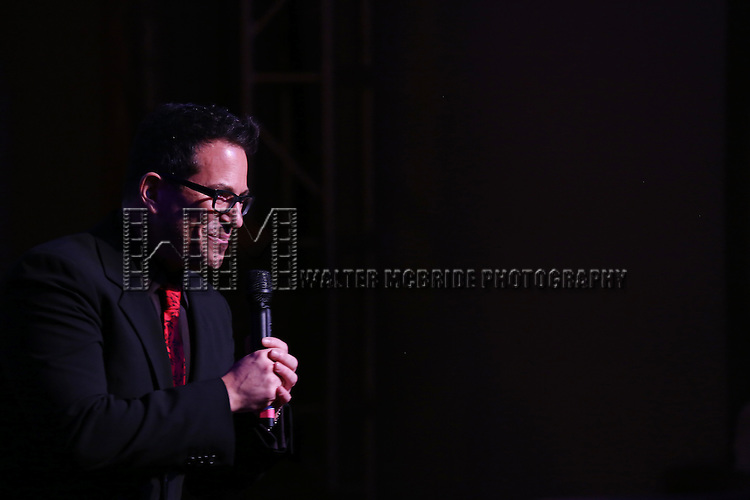 Michael Mayer during the Drama League's 30th Annual 'Musical Celebration of Broadway' honoring Neil Patrick Harris at the Pierre Hotel on February 3, 2014 in New York City.