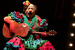 Actor Manuel Tallafe during the performance of Chufla. September 25, 2019. (ALTERPHOTOS/Johana Hernandez)