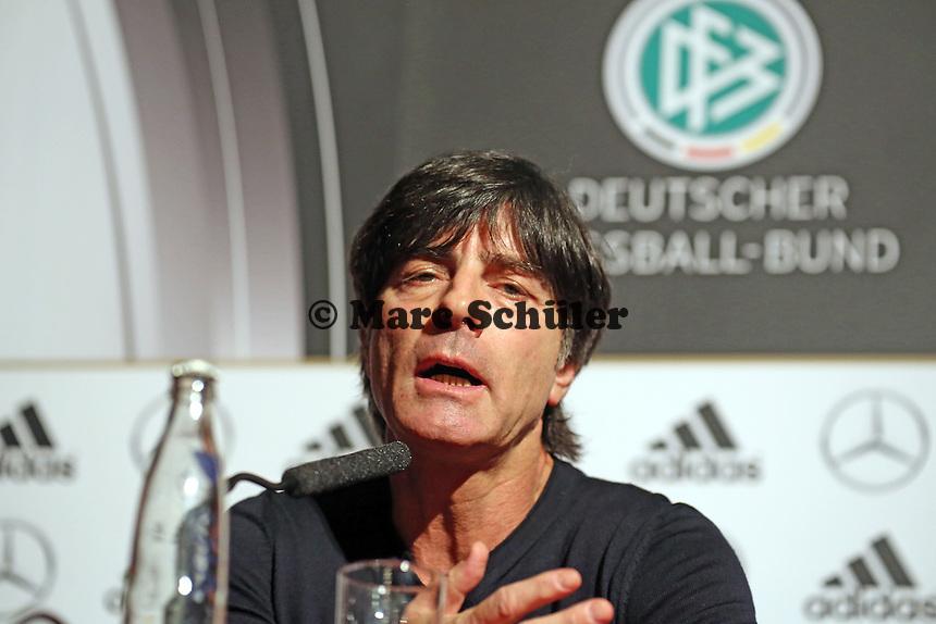 Bundestrainer Joachim Löw (D) - Pressekonferenz der Nationalmannschaft