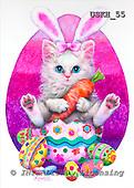 Kayomi, CUTE ANIMALS, paintings, EasterBunny_M, USKH55,#AC# stickers illustrations, pinturas ,everyday
