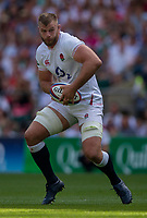 England's George Kruis in action during todays match<br /> <br /> Photographer Bob Bradford/CameraSport<br /> <br /> Quilter Internationals - England v Ireland - Saturday August 24th 2019 - Twickenham Stadium - London<br /> <br /> World Copyright © 2019 CameraSport. All rights reserved. 43 Linden Ave. Countesthorpe. Leicester. England. LE8 5PG - Tel: +44 (0) 116 277 4147 - admin@camerasport.com - www.camerasport.com