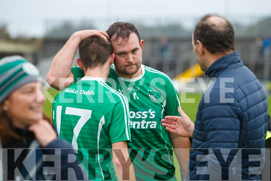 Ballyduff players celebrate after the Senior County Hurling Final in Austin Stack Park on Sunday