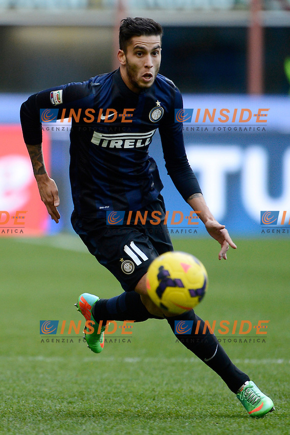 Ricardo Alvarez Inter<br /> Milano 26-01-2014 Stadio Giuseppe Meazza - Football 2013/2014 Serie A. Inter - Catania Foto Giuseppe Celeste / Insidefoto