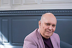 Alan Ayckbourn at the Sheldonian Theatre during the FT Weekend Oxford Literary Festival, Sunday 10 April 2016. Photo © Graham Harrison.