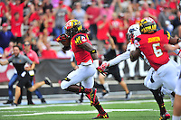 Maryland routed Howard 51-13 during home season opener at Capital One Field in College Park, MD on Saturday, September 3, 2016.  Alan P. Santos/DC Sports Box